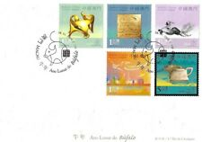 MACAU 2009 YEAR OF THE OX (SG1676/80), FIRST DAY COVER