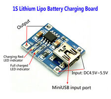 5V Mini USB 1A 1S 18650 Lithium Battery Mini Charging Board Lipo Charger Module