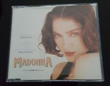 Madonna RARE Cherish (Yellow Re-issue) CD Single