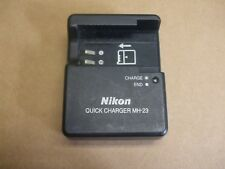 Nikon Genuine Battery Charger MH-23 (Fig8 2 pin) 8.4V 0.9A FREE UK Delivery