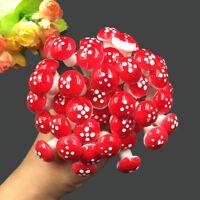 30x Resin Mushroom Toadstool Garden Ornaments Gnomes Potted Plants DecoratiMAEK