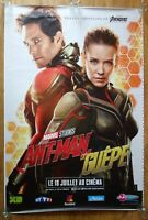 ANT MAN AND THE WASP marvel original LARGE 6x4 ft BUS SHELTER movie poster