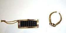 Barbie Accessories Clutch/Purse, Necklace For Barbie Diorama ac001