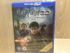 Harry Potter and the Deathly Hallows Part 2 3D Blu Ray New & Sealed 3d