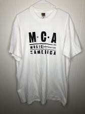 R&B/Pop/Rap/Hip-Hop Promo T-Shirt - Mca Records - White Tee Xl