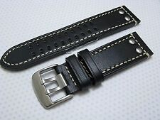 Quality Euro leather watch band Hadley Roma fits Panerai