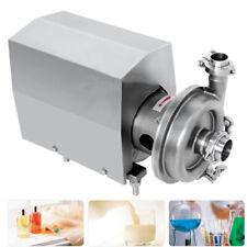 10th Food Grade Centrifugal Pump Sanitary Chemical Lab Beverage Pump 3hp