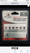 Memory Card Targus Storage Case Wallet Universal - Aluminum