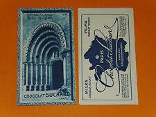 CHROMO PHOTO CHOCOLAT SUCHARD 1928 FRANCE EPINAL PORTAIL EGLISE VOSGES