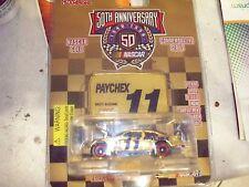 NASCAR PAYCHEX 1998 BRETT BODINE 50 ANNIVERSARY GOLD CAR 11 1 OF 5,000 NICE