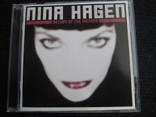 CD  NINA HAGEN   Return of the Mother  Neuwertige CD !!