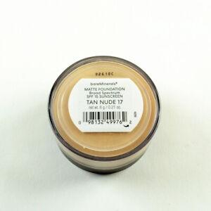 bareMinerals Matte Foundation SPF15 Tan Nude 17 - Large Size 6 g / 0.21 Oz
