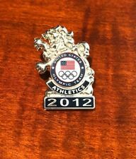 RARE OLYMPIC PINS 2012 TEAM USA TRACK & FIELD SILVER