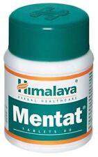 2 packs of 60 Himalaya Herbals Mentat Channelize Mental Energy & Increase Memory