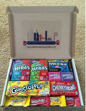 Wonka Gift Box Nerds, Gobstoppers, Cherryhead, Mike & Ike Mix. US Import