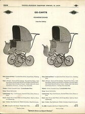 1910 ADVERTISEMENT Diamond Brand Baby Buggy Carriage Reed Work Go Cart