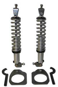 Rear Coil Over Kit | QA1 18 Way Double Adjustable Shocks & 170# Springs