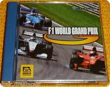 F1 World Grand Prix videogame Video System Dreamcast