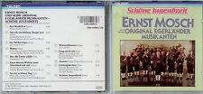 ERNST MOSCH - Schöne Jugendzeit- CD 1987 TELDEC - Neuwertig