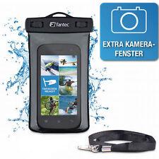 Fantec ST-S4 Outdoor Tasche Schutzhülle / Kamerafenster / wasserdichte f. iPhone