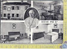 Riese - Casa Natale di Pio X - Pio X Native Home - 1958 - Cartolina - Postcard