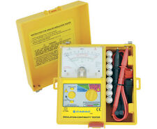 T1800 Analogue Insulation Tester Megger 12mth Warranty Battery Crocodile Clip