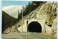 Bc Canada Fraser Canyon China Bar Tunnel Lytton to Hope 4x6 Postcard A43