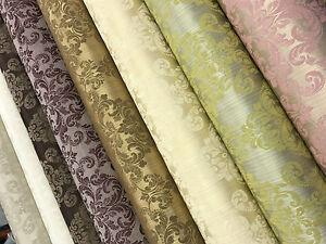 2022 Latest 'Galaxy' Soft Damask Brocade Furnishing Decor Cotton Curtain Fabric