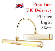 Picture Light | Remote Control Wireless Battery Operated Wall Lights | Gold