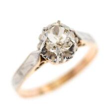 c3c346847b4f Anillos de diamante finos solitarios de Natural