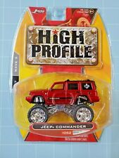 Jada Toys 1/64 HIgh Profile Jeep Commander Burgundy