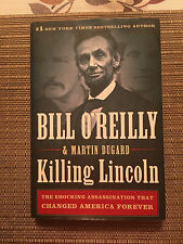 Killing Lincoln by Bill O'Reilly & Martin Dugard - Hardcover Book