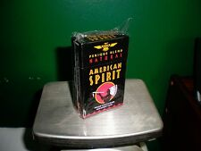 Natural American Spirit EMPTY Cigarette Tin, BLACK FLIP. NOS w/ orig. plastic