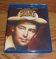Shane (Blu-ray Disc, 2013)  Alan Ladd, Jean Arthur 1950s Western Movie Rare OOP