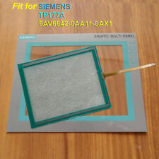 for SIEMENS TP177A 6AV6642-0AA11-0AX1 Touch Screen Glass + Protective Film
