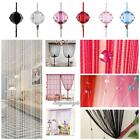 Elegant String Curtain Beads Decor Tassel Room Door Window Panel Fringe Divider