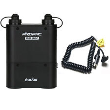 Godox PB960 Flash Power Battery Pack 4500mAh + Cable Cx for Canon Speedlite