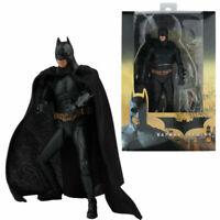 "NECA Batman Action Figure DC Movie Batman Begins 7"" PVC Collectible Model Toy"