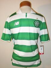 NWT New Balance CFC Celtic Football Club Youth Boys Jersey M White/Green MSRP$65