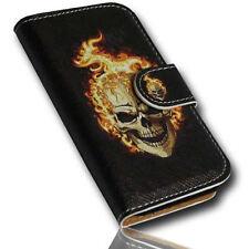 Design No.2 Book Style Handy Tasche Case Cover Etui für Samsung S5830 Galaxy Ace