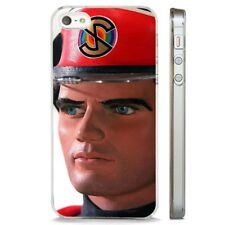 Captain Scarlet Thunderbirds CLEAR PHONE CASE COVER fits iPHONE 5 6 7 8 X
