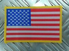 """Genuine US Military USA Flag Insignia Arm Patch """"Old Glory"""" Hi-Viz - NEW APOR25"""