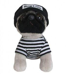 Doug the Pug Pug Life Beanie - Brand New Plush / Teddy H14.5cm