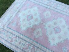 6'x7'4'' Vintage Turkish Area Rug,Antique Large Oushak Rug,Wool Ushak Carpet