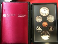 America - Canada 1$ Lot Série 1981 Trans Canada Railway
