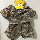 Build A Bear Workshop Military Soldier Camo Shirt Pants Dog Tags Outfit USA
