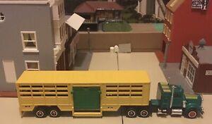 Vintage Majorette Kenworth 2161400 Cattle Livestock Transporter Diecast 1/87