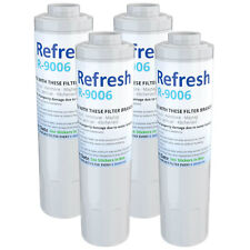 Fits KitchenAid PUR Refrigerator Water Filter Replacement - by Refresh (4 Pack)