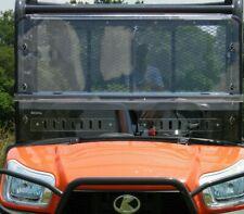 Kubota RTV X900 / X1120D / XG850 2 Piece Lexan Windshield with Dual Vents