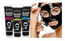 Revuele Black Mask Pro Collagen Co Enzymes Hyaluron Face Mask Peel Off Mask